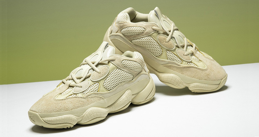 f3e4d048b Complete Raffles List For The Yeezy 500 Super Moon Yellow Desert Rat ...
