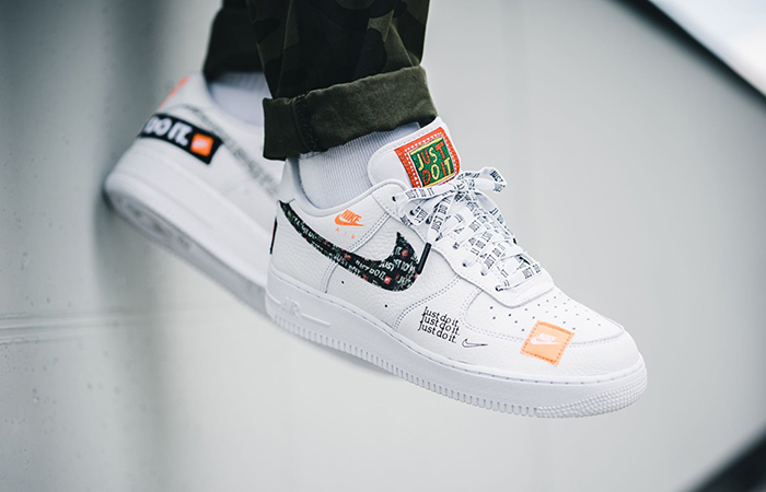 5347490673e4a Nike Air Force 1  07 Premium Just Do It White AR7719-100 – Fastsole