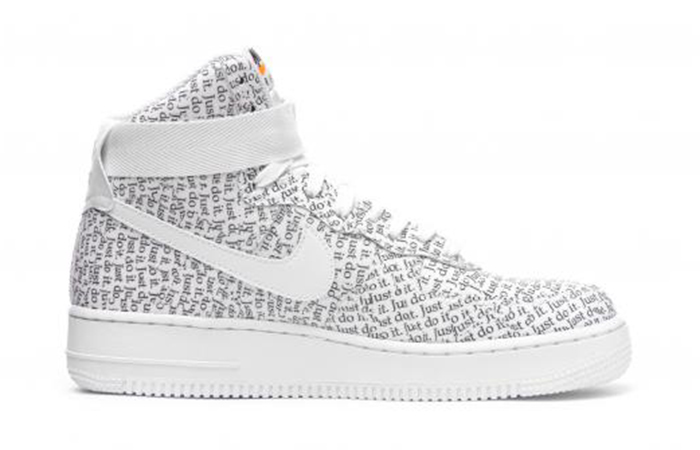 Nike Air Force 1 High LX Just Do It Pack Grey White AO5138