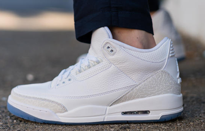 new products bb56b 197d5 Nike Air Jordan 3 Pure White 136064-111