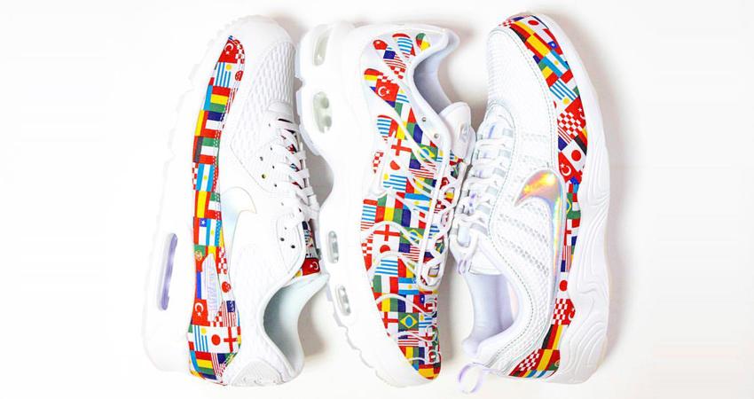 Nike Drops 90s Sneakers In All Global Flags
