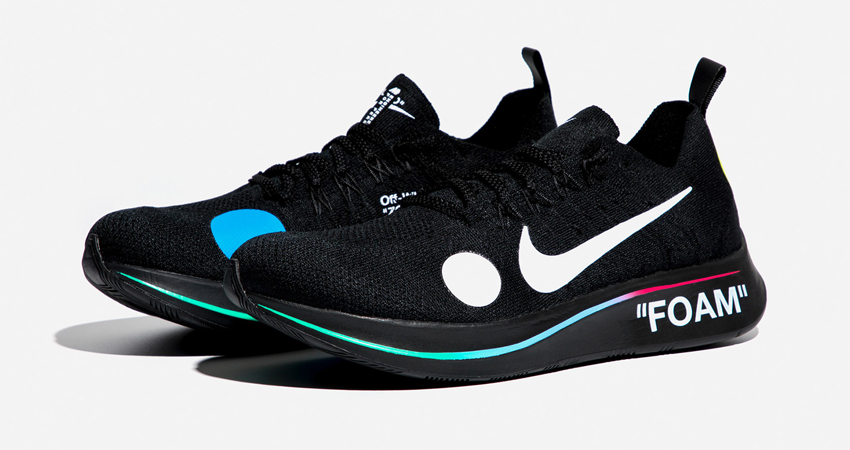 3b95c871fc67 Official Look At The Off-White x Nike Zoom Fly Mercurial Flyknit Pack 03