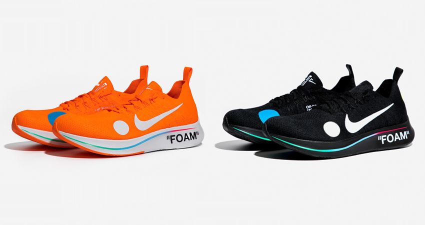 00e46d3a48d36 Official Look At The Off-White x Nike Zoom Fly Mercurial Flyknit Pack