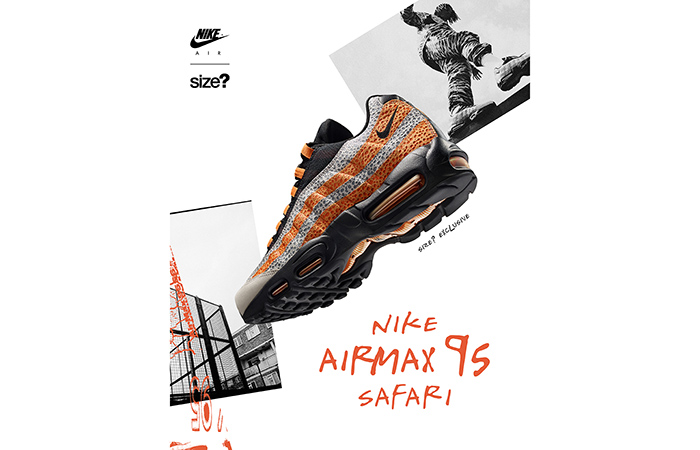 Size And Nike To Drop Exclusive Air Max 95 Safari ft