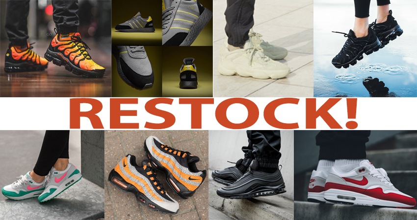 Sneaker Restocks You Cannot Miss Out!