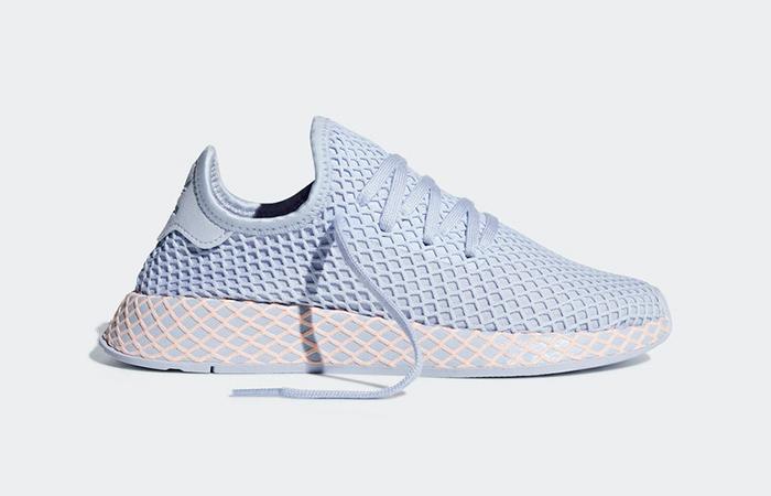 24d4ba0a44c7b adidas Deerupt Blue Womens B37878 – Fastsole