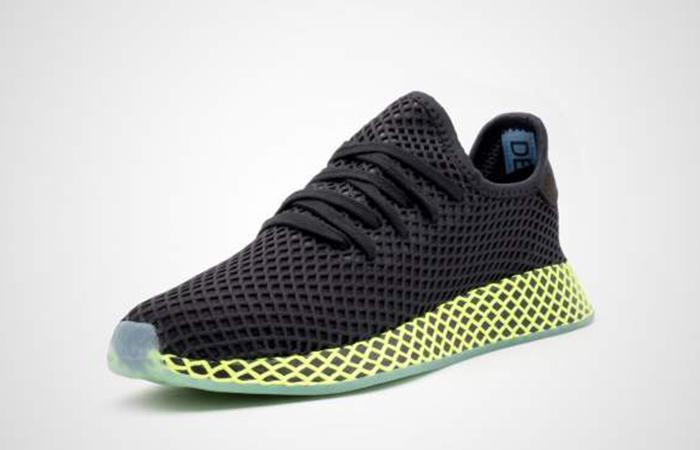 787b53ddf6e78 ... adidas Deerupt Runner Black Green B41755 02 ...