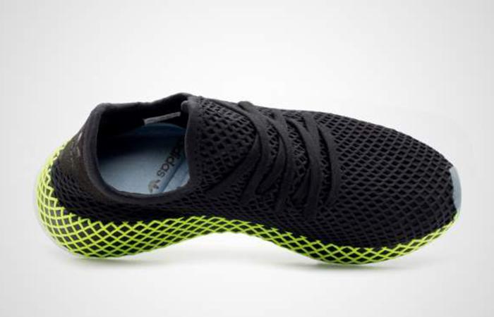 1e472126c2a3c ... adidas Deerupt Runner Black Green B41755 04 ...