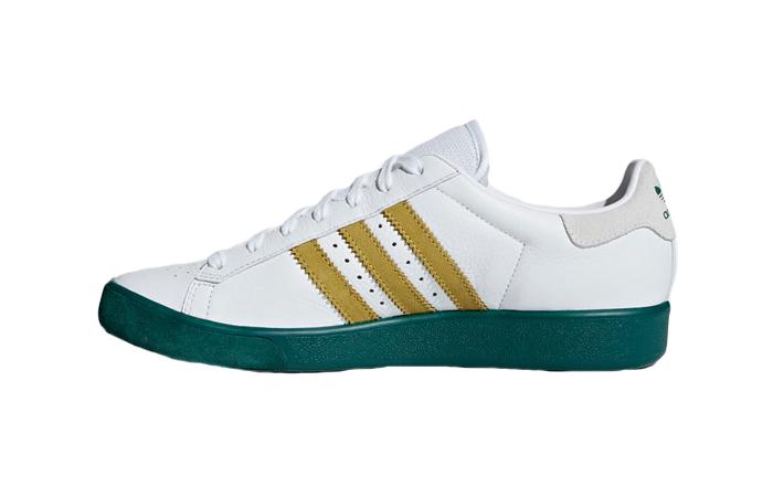 adidas Forest Hills White Green AQ0921