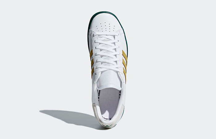 premium selection c0307 3de4a ... adidas Forest Hills White Green AQ0921 05 ...