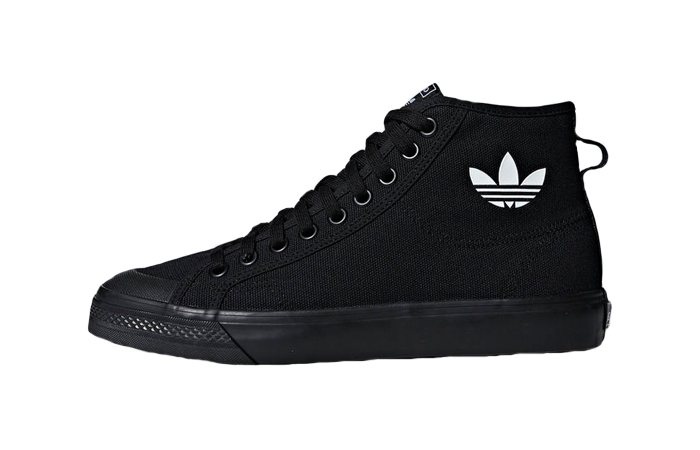 la meilleure attitude 0b11d 24d69 adidas Nizza High Triple Black B41651