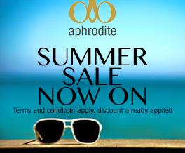aphrodite Summer Sale 2018