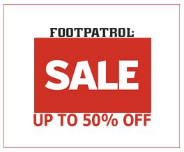 footpatrol Summer Sale 2018