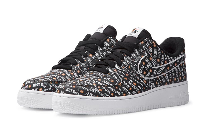 Air Force 1 Low Just Do It Pack Black AO6296 001
