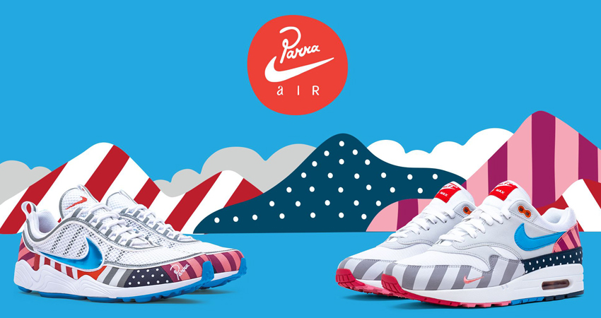 Check Out The Full Raffle List For 2018 Parra x Nike Sneakers