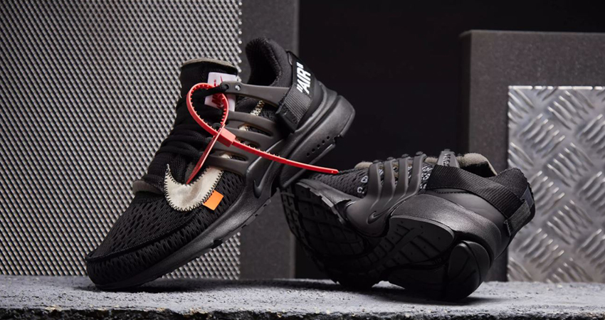 17bf8908e4629 Check The Complete Raffles List For Off-White x Nike Air Presto Black