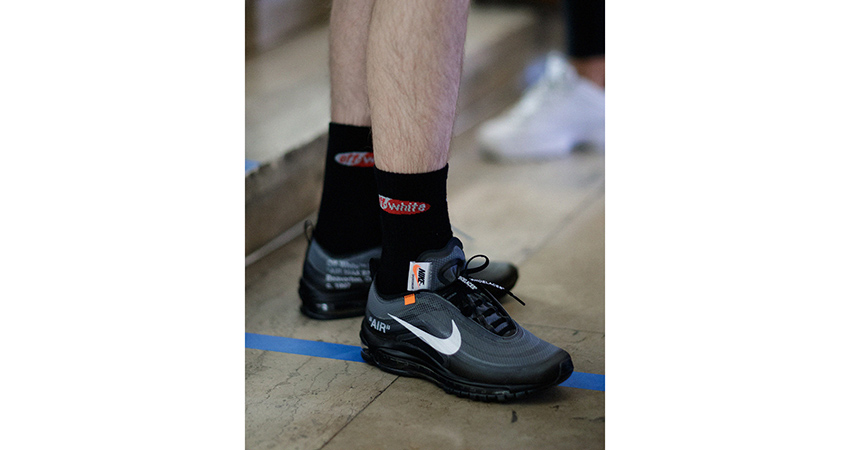 Closer Look At The Off White Nike Air Max 97 Black Fastsole