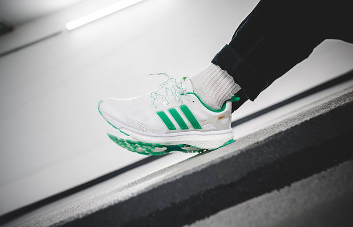 705aa46da Concepts x Adidas Energy Boost Shiatsu White Green - New – Fastsole