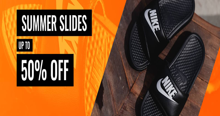 Footasylum Offers Comfy Summer Sliders Sale Up To 50% Off