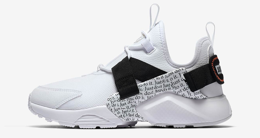 separation shoes c68ca 94b10 Nike Air Huarache City Low Just Do It Drops This August 02