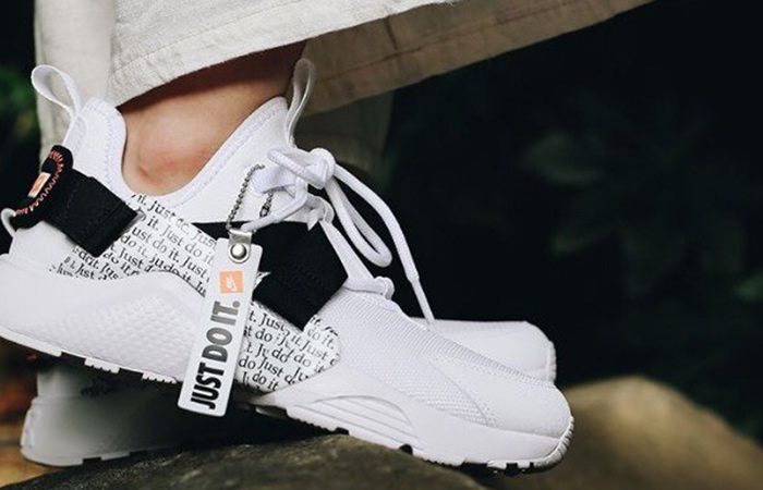 low cost efe2b e8bdc Nike Air Huarache City Low Just Do It White AO3140-100