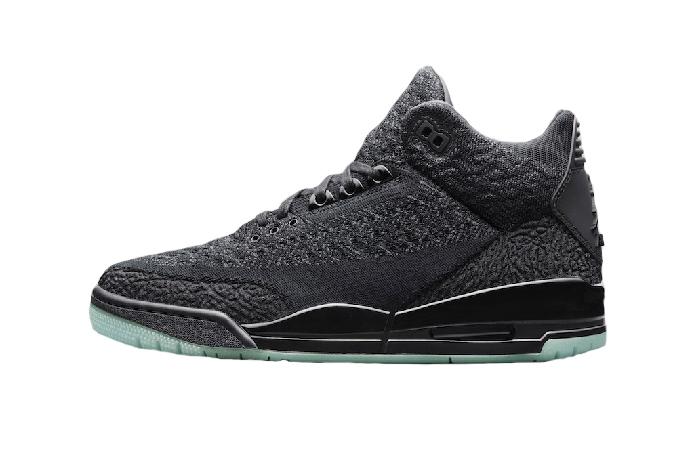 c4f1403ddbd3d6 Nike Air Jordan 3 Flyknit Black AQ1005-001 – Fastsole