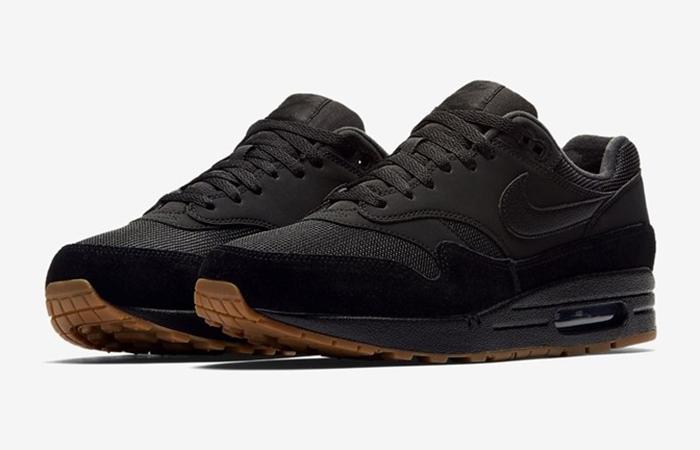 Nike Air Max 1 Premium Black Gum