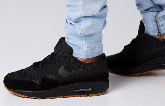 sports shoes 98fce ee4f8 ... Nike Air Max 1 Premium Black Gum AH8145-007 06 ...