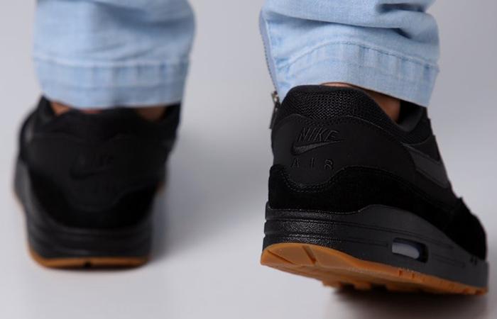 91c0273ae4 ... Nike Air Max 1 Premium Black Gum AH8145-007 07 ...