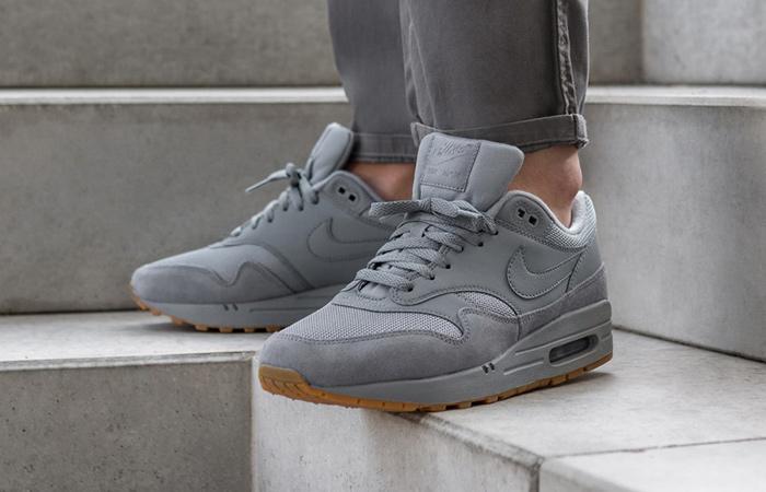 new concept 36a73 ccb70 ... Nike Air Max 1 Wolf Grey Gum AH8145-005 08 ...