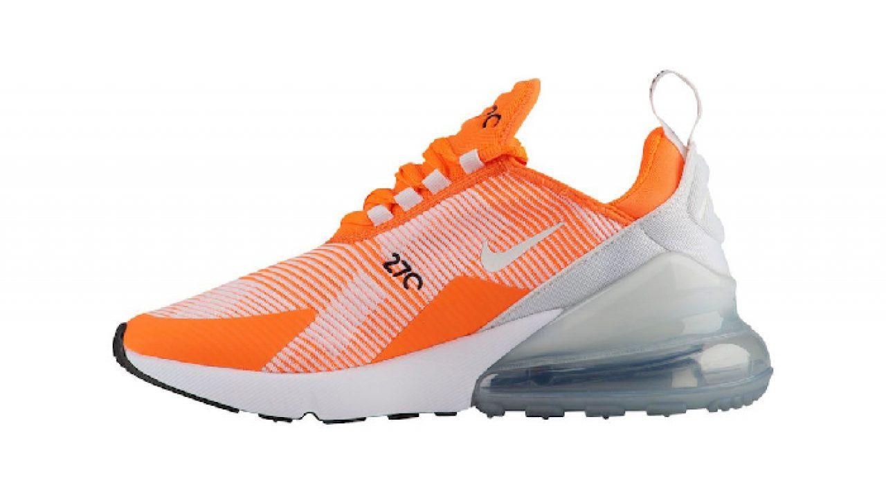 sale retailer ac7fa e879f Nike Air Max 270 Orange White AH6789-800