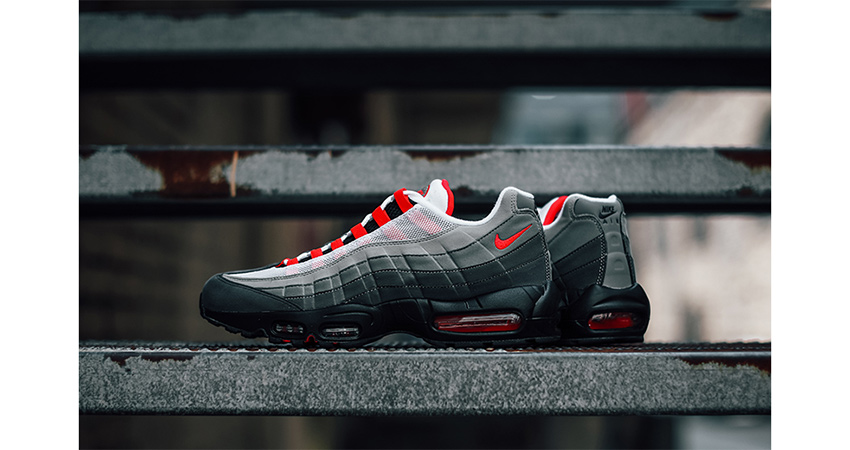 52f65ce56b Nike Air Max 95 Solar Red Declares The Return Of 90's Runner – Fastsole