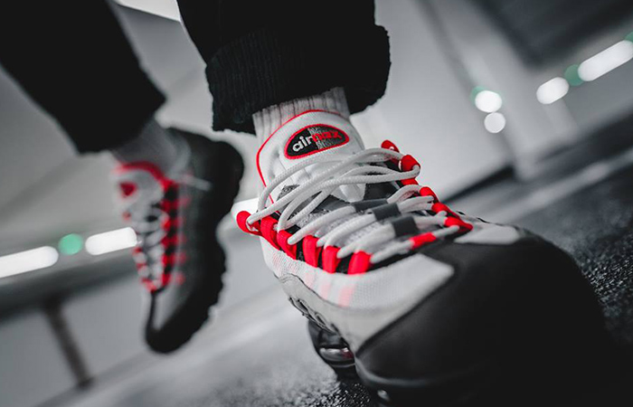 best sneakers 056dd 2362b Nike Air Max 95 Solar Red – Full Release Info | AT2865-100