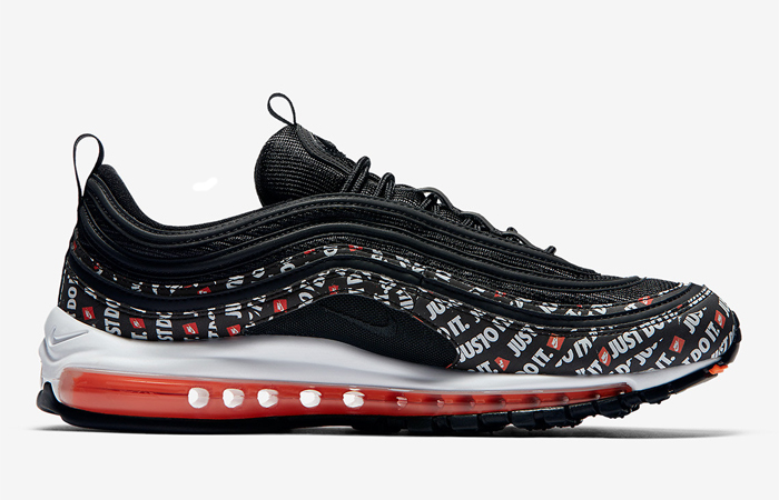 9a485c1e51 ... Nike Air Max 97 Just Do It Black AT8437-001 04 ...