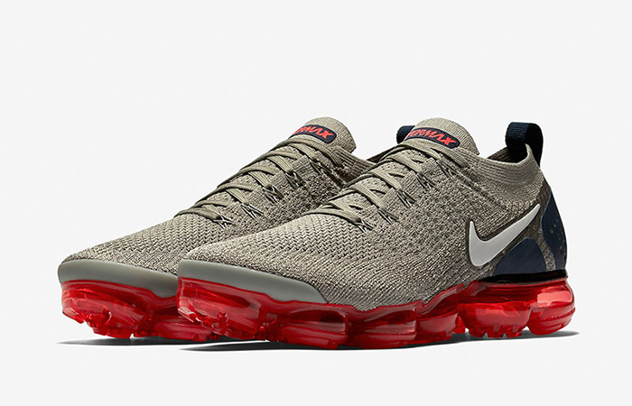 9df62e4825ada Nike Air VaporMax Flyknit 2 Grey Red 942842-010 – Fastsole