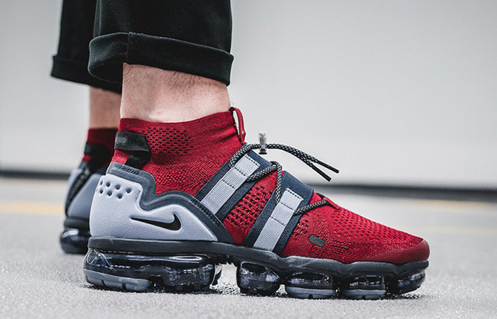 Nike Air VaporMax Utility Red Official Look ft