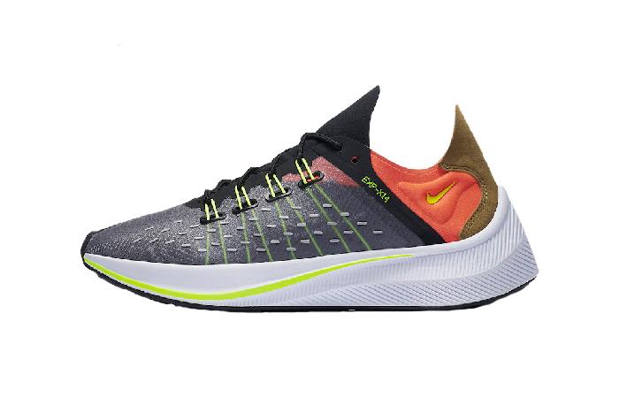 Nike EXP-X14 Grey Crimson AO1554-001 01