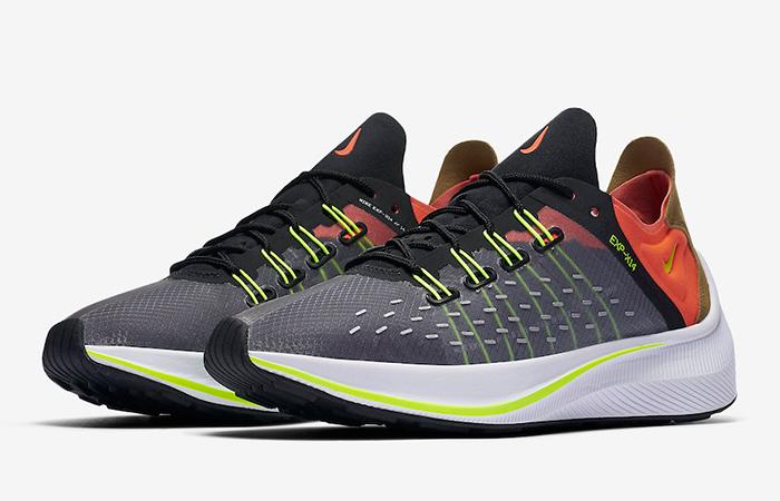 Nike EXP-X14 Grey Crimson AO1554-001 03