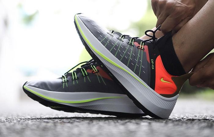 Nike EXP-X14 Grey Crimson AO1554-001 08