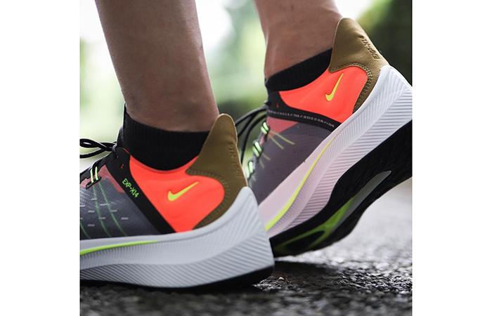 Nike EXP-X14 Grey Crimson AO1554-001 09