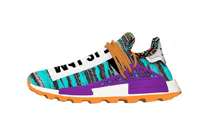 reputable site 3bf6f 25b55 Pharrell adidas Afro NMD Hu Pack Aqua Multi BB9528