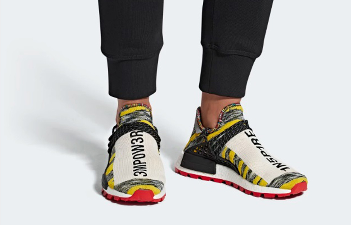purchase cheap 23534 d2446 ... Pharrell adidas Afro NMD Hu Pack Black Multi BB9527 06 ...