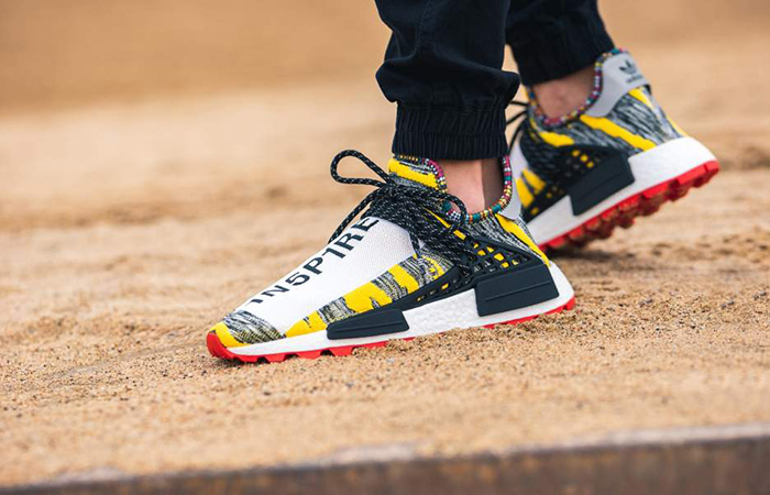 lowest price d98d6 4a6b0 Pharrell adidas Afro NMD Hu Pack Black Multi BB9527