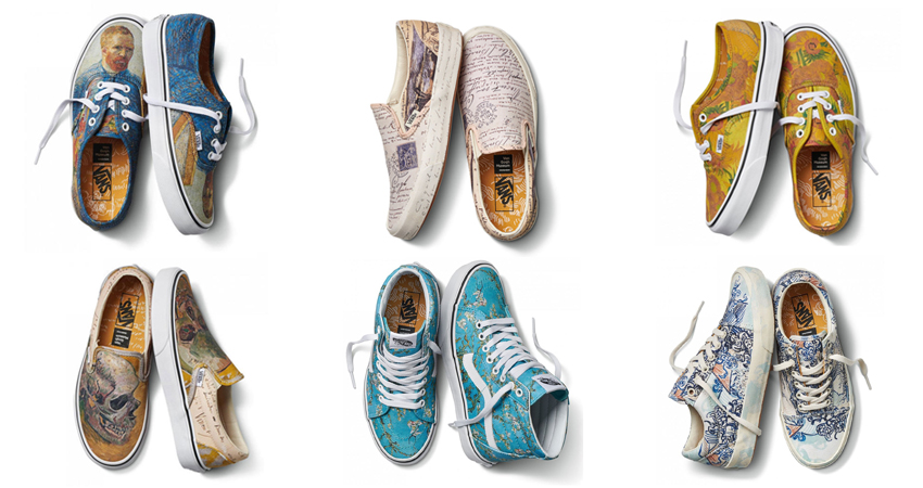76d7f5e7f75e Vans x Van Gogh Museum Collection Honours And Preserve Van Gogh s Art And  Legacy