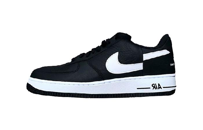 Supreme x Comme Des Garcons x Nike Air Force 1 Low BlackWhite AR7623 001