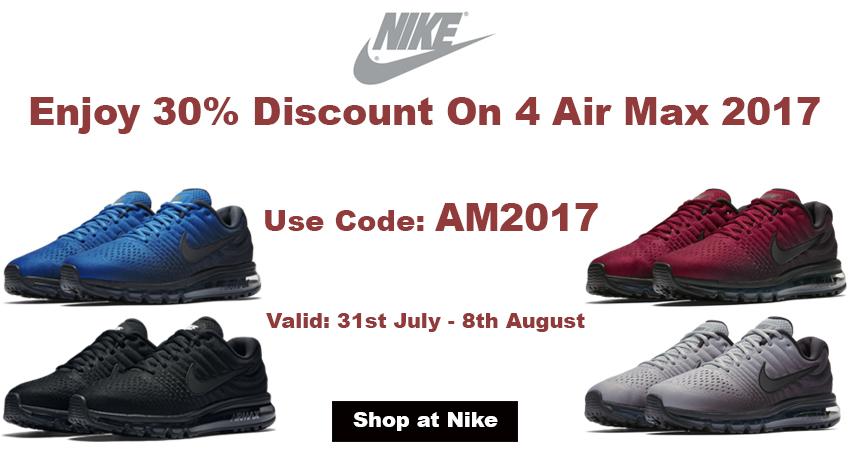 Enjoy Fabulous 4 Pairs Of Air Max 2017 In 30% Discount
