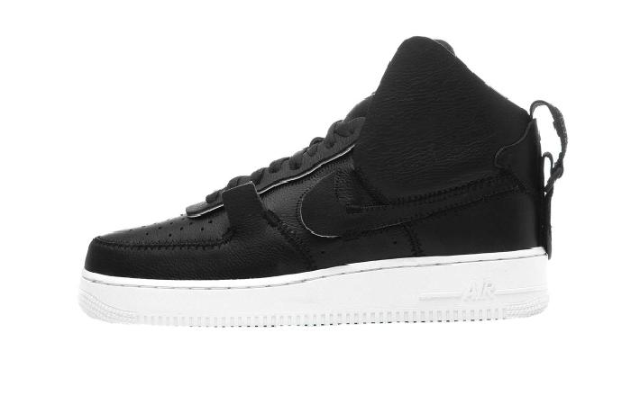 Nike Air Force 1 High PSNY Black White AO9292 002