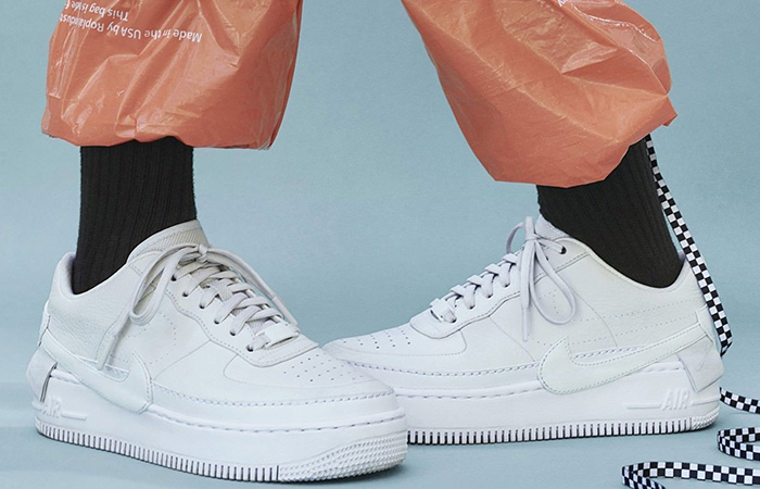 huge selection of c7a43 f8179 Nike Air Force 1 Jester XX Triple White Womens AO1220-101