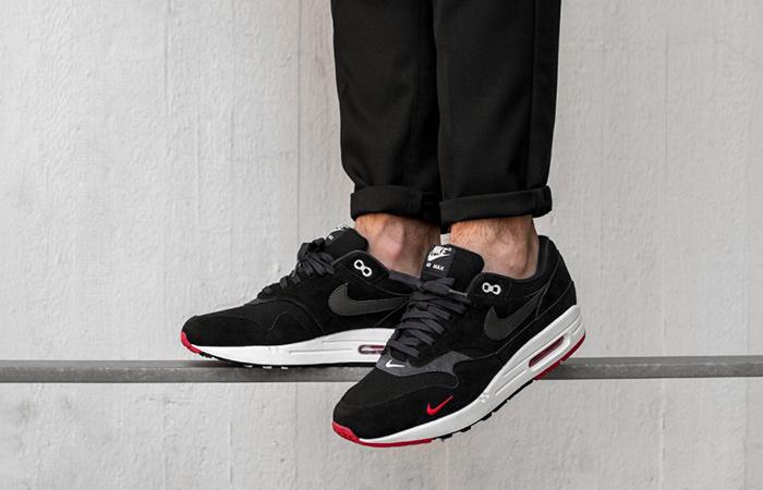 Nike Air Max 1 Premium Mini Swoosh Black 875844 007