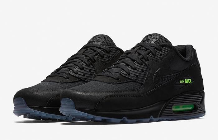 0136dae72d ... Nike Air Max 90 Black Volt AQ6101-001 01 ...